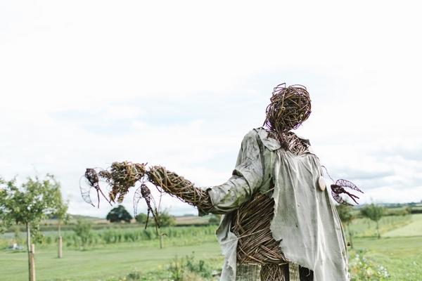 Scarecrow at Daylesford Farm