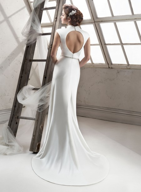 Constance Back - Sottero and Midgley Fall 2014 Collection