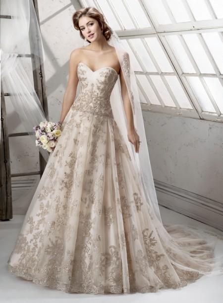 Garland Wedding Dress - Sottero and Midgley Fall 2014 Bridal Collection