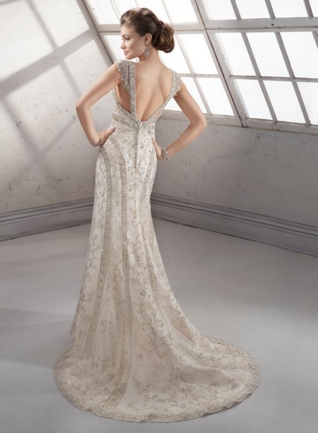 Back of Irena Wedding Dress - Sottero and Midgley Fall 2014 Bridal Collection