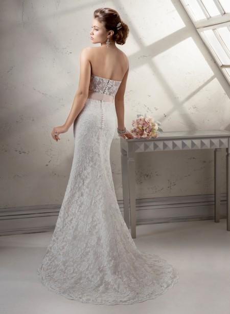 Back of Jennifer Wedding Dress - Sottero and Midgley Fall 2014 Bridal Collection
