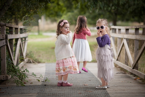 Young children at wedding - Picture by Linus Moran Photography
