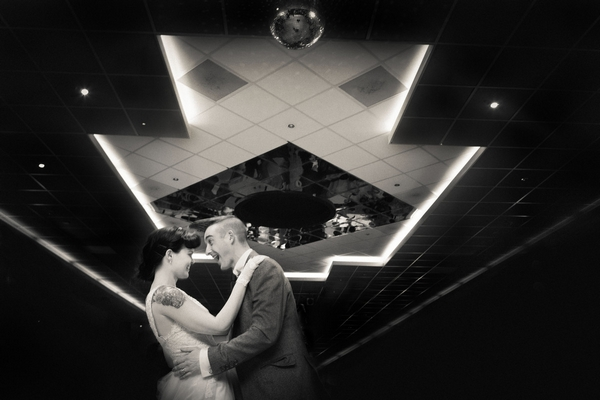 Bride and groom - Picture by Linus Moran Photography