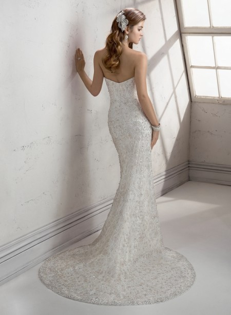Back of Lanie Wedding Dress - Sottero and Midgley Fall 2014 Bridal Collection
