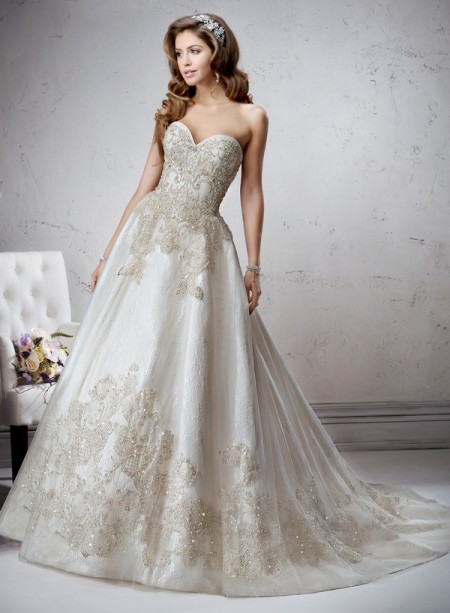 Marcela Wedding Dress - Sottero and Midgley Fall 2014 Bridal Collection