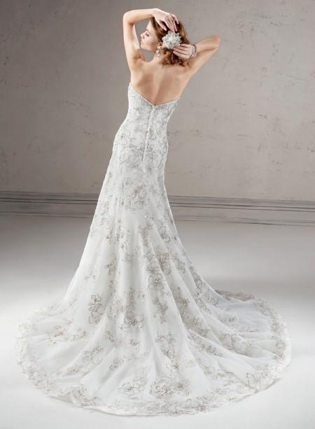 Back of Regence Wedding Dress - Sottero and Midgley Fall 2014 Bridal Collection
