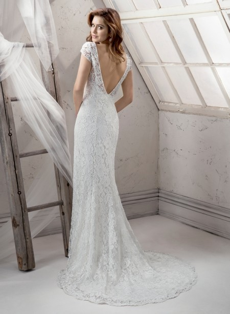 Back of Roanna Wedding Dress - Sottero and Midgley Fall 2014 Bridal Collection