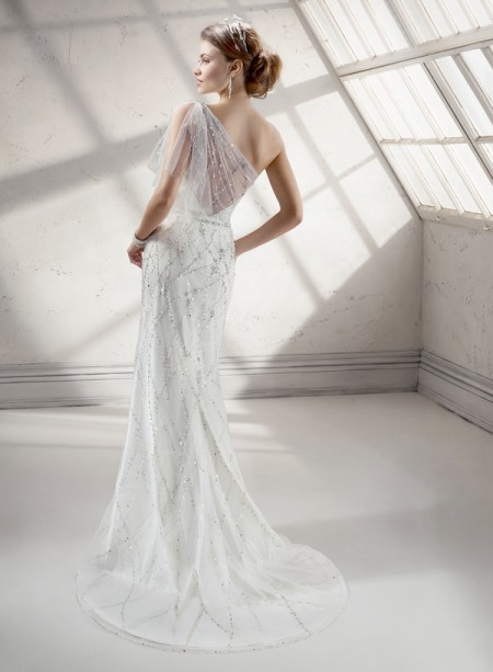 Back of Skye Wedding Dress - Sottero and Midgley Fall 2014 Bridal Collection