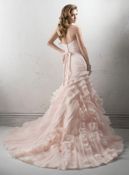 Back of Sorrento Wedding Dress - Sottero and Midgley Fall 2014 Bridal Collection