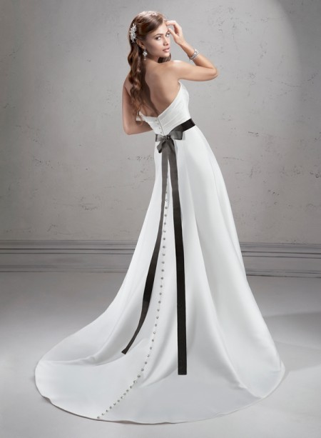 Back of Tanner Wedding Dress - Sottero and Midgley Fall 2014 Bridal Collection