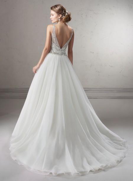 Back of Tanya Wedding Dress - Sottero and Midgley Fall 2014 Bridal Collection