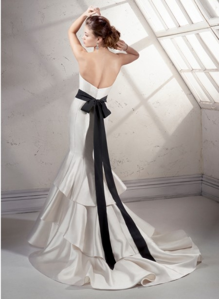 Back of Vivien Wedding Dress - Sottero and Midgley Fall 2014 Bridal Collection