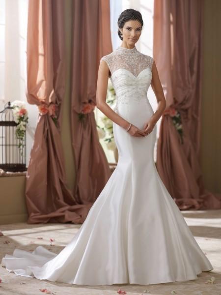 214201 Shawn Wedding Dress - David Tutera for Mon Cheri Fall 2014 Bridal Collection