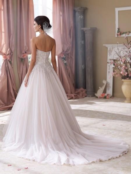 Back of 214215 Rhi Wedding Dress - David Tutera for Mon Cheri Fall 2014 Bridal Collection
