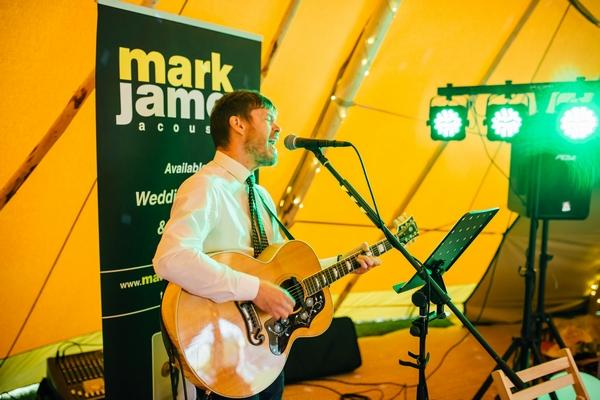 Mark James guitarist