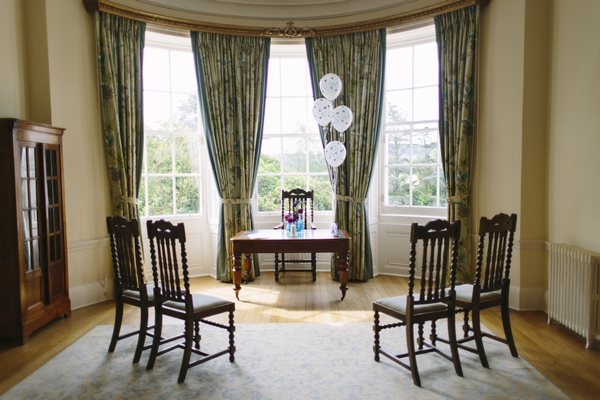 Ceremony room at Deer Park Country House Hotel