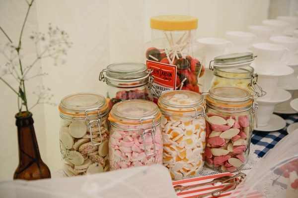 Jars of sweets