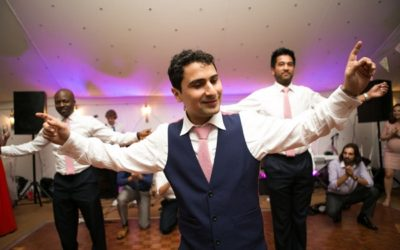 A Greek Cypriot Wedding with a Twist of Welsh