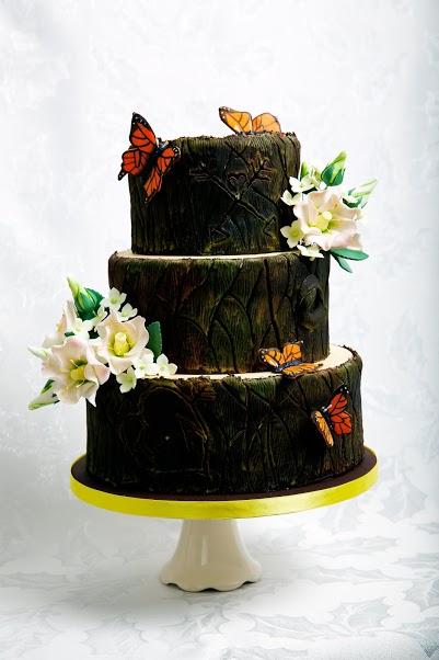 Follow Your Arrow Wedding Cake - Jessica Lauren Cakes