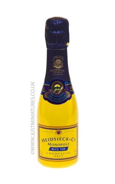 Heidieck Monopole Champagne - Just Miniatures