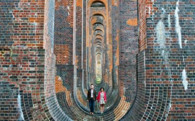 An Engagement Shoot at the Ouse Valley Viaduct