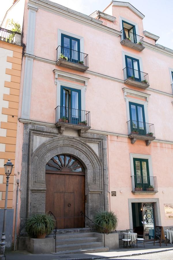 Building in Sorrento, Italy