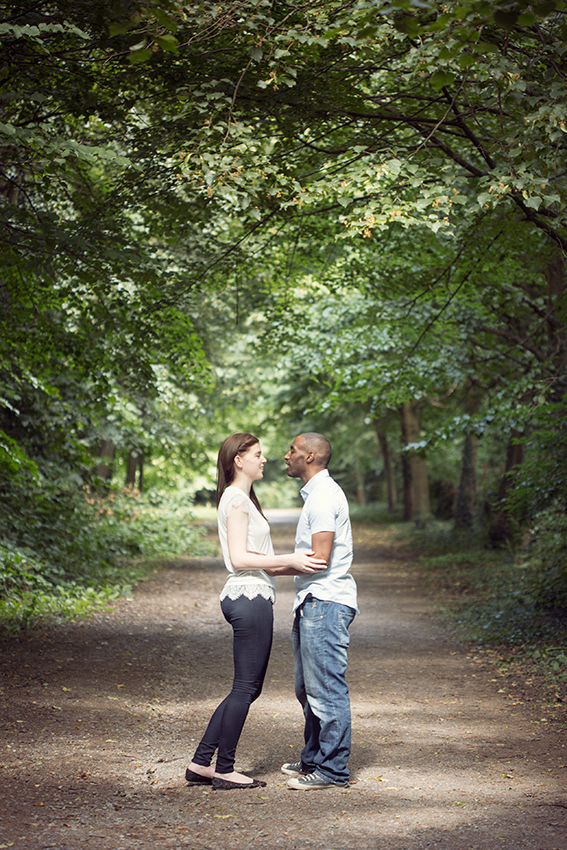 Couple in Holland Park
