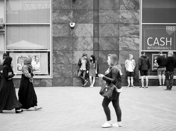 Couple in Birmingham city centre