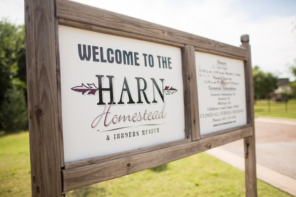 Harn Homestead sign