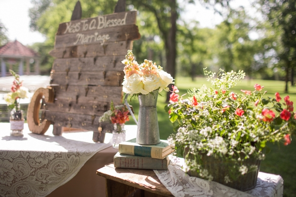 A Rustic Chic Outdoor Wedding in Oklahoma