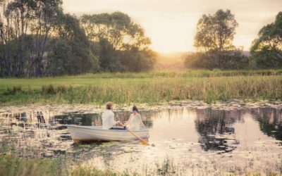 Romantic 'The Notebook' Inspired Wedding Styling