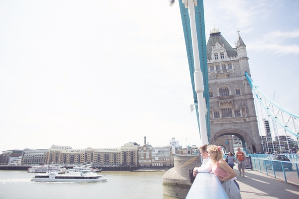 Couple on Tower Bridge