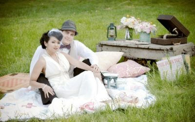 A Vintage Picnic and Games Styled Wedding Shoot