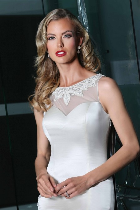 90214 Wedding Dress - Simone Carvalli Spring/Summer 2015 Bridal Collection