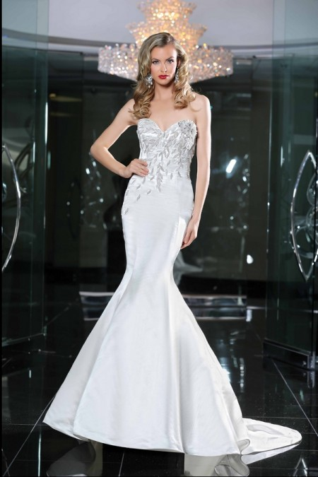 90216 Wedding Dress - Simone Carvalli Spring/Summer 2015 Bridal Collection
