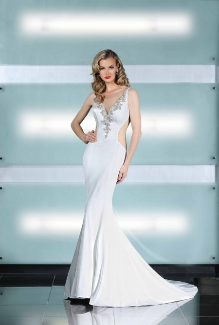 90221 Wedding Dress - Simone Carvalli Spring/Summer 2015 Bridal Collection