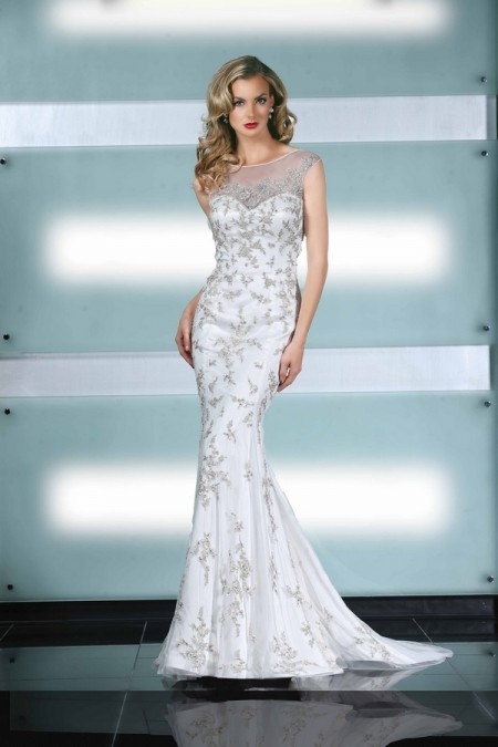 90223 Wedding Dress - Simone Carvalli Spring/Summer 2015 Bridal Collection