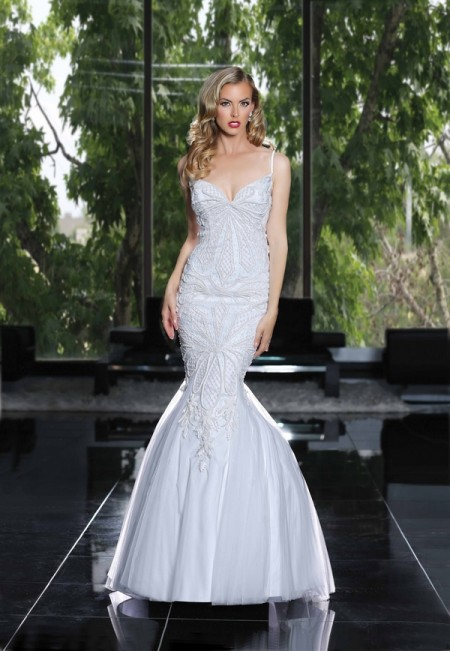 90231 Wedding Dress - Simone Carvalli Spring/Summer 2015 Bridal Collection