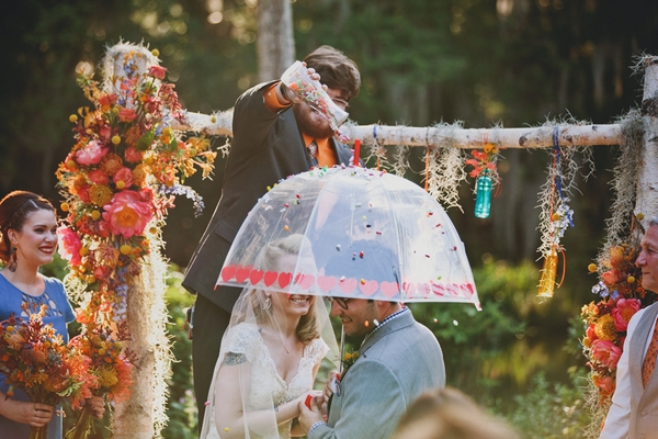 A Colourful Wedding at Magnolia Plantation and Gardens
