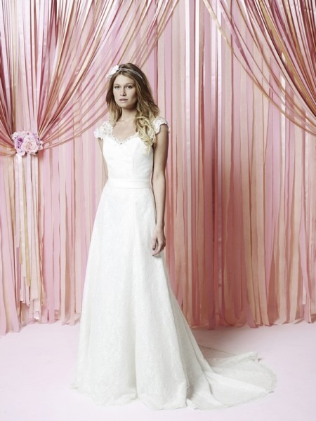 Abbie Wedding Dress - Charlotte Balbier Iscoyd Park 2015 Bridal Collection