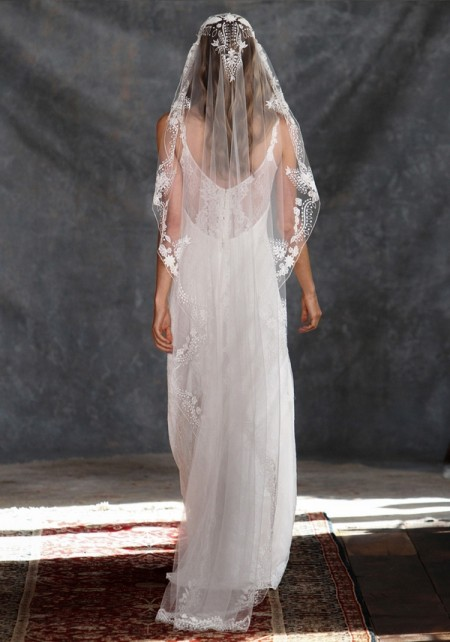 Back of Adelaide Wedding Dress - Claire Pettibone Romantique 2015 Bridal Collection
