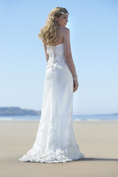 Back of Adelaide Wedding Dress - Stephanie Allin Always and Forever 2015 Bridal Collection
