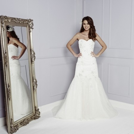Adrianne Wedding Dress - Amanda Wyatt Blue Iris 2015 Bridal Collection