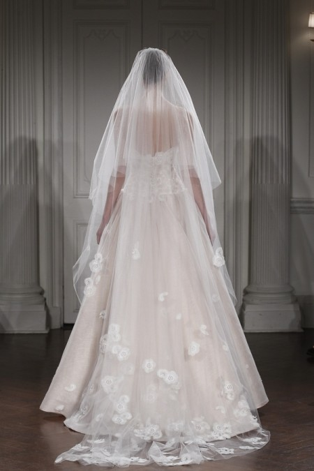 Back of Alice in Everland Wedding Dress - Peter Langner 2015 Bridal Collection