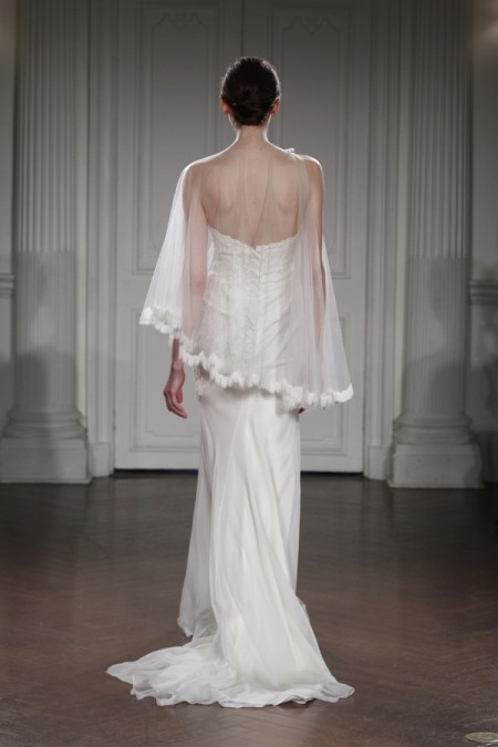 Back of Alin Wedding Dress - Peter Langner 2015 Bridal Collection