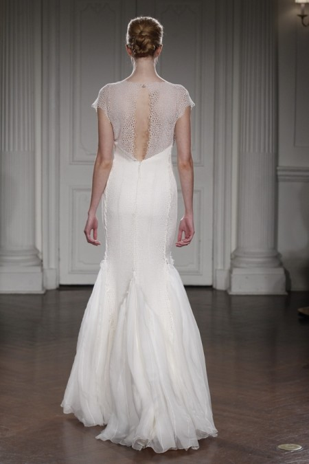 Back of Altea Wedding Dress - Peter Langner 2015 Bridal Collection