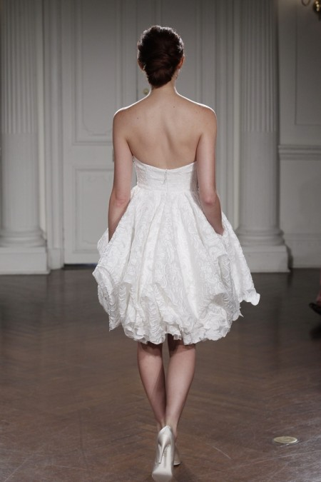Back of Annette Wedding Dress - Peter Langner 2015 Bridal Collection