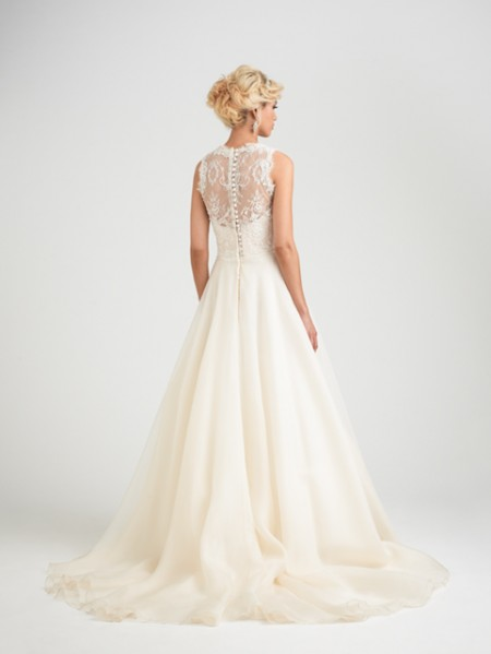 Back of Antibes Wedding Dress - Caroline Castigliano Opera 2015 Bridal Collection