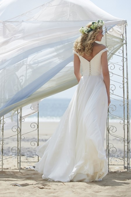 Back of Anya Wedding Dress - Stephanie Allin Always and Forever 2015 Bridal Collection