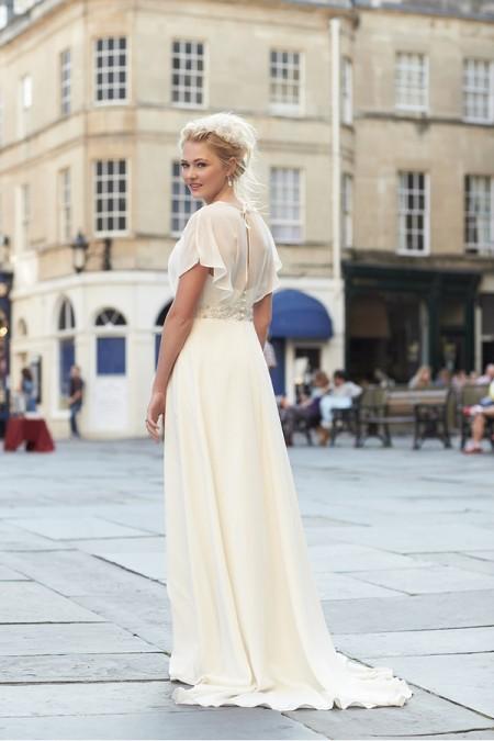 Back of Arabella Wedding Dress - So Sassi 2015 Bridal Collection